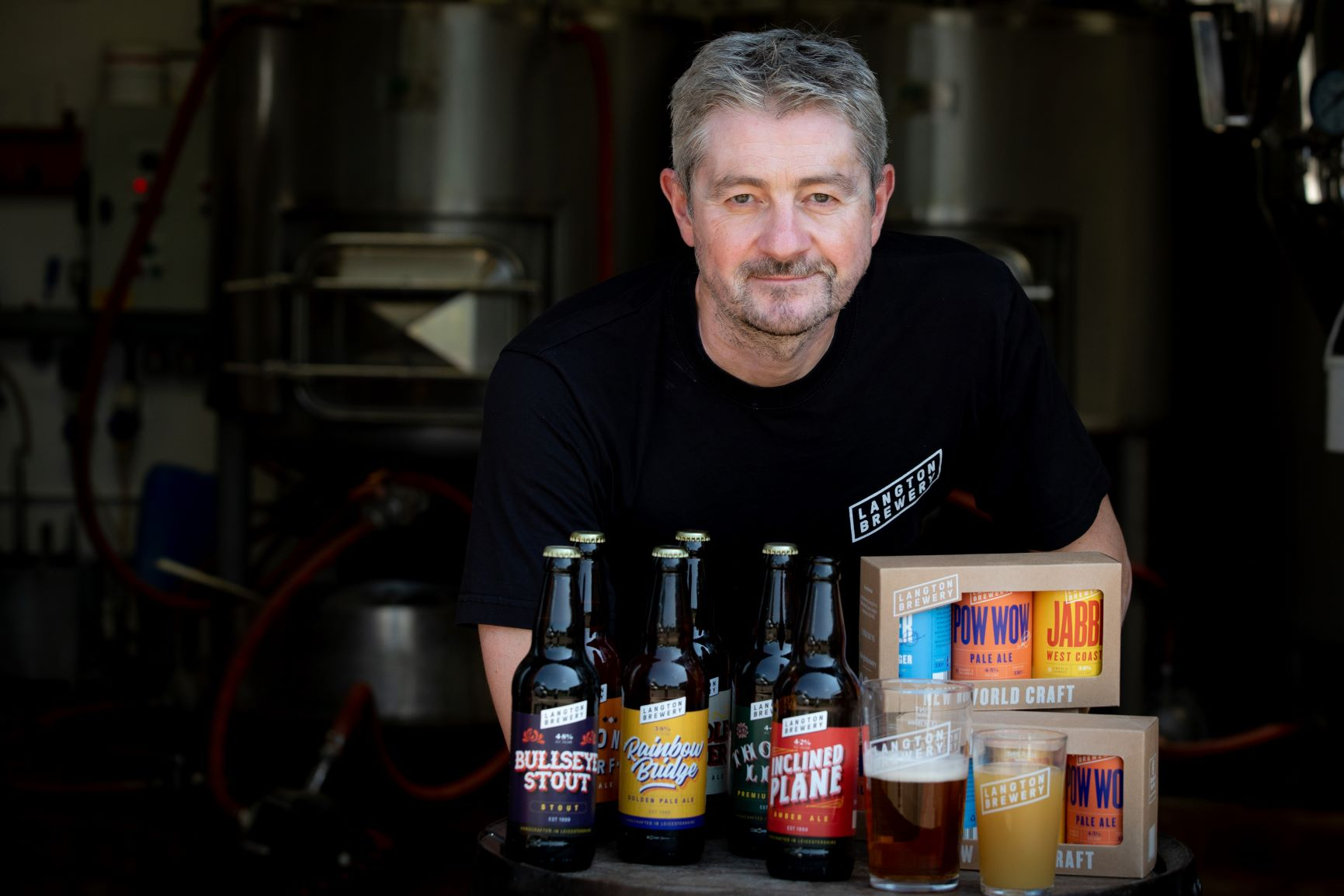 Langton Brewery Sion Roberts Owner