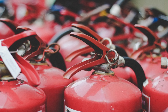 red-fire-extinguishers