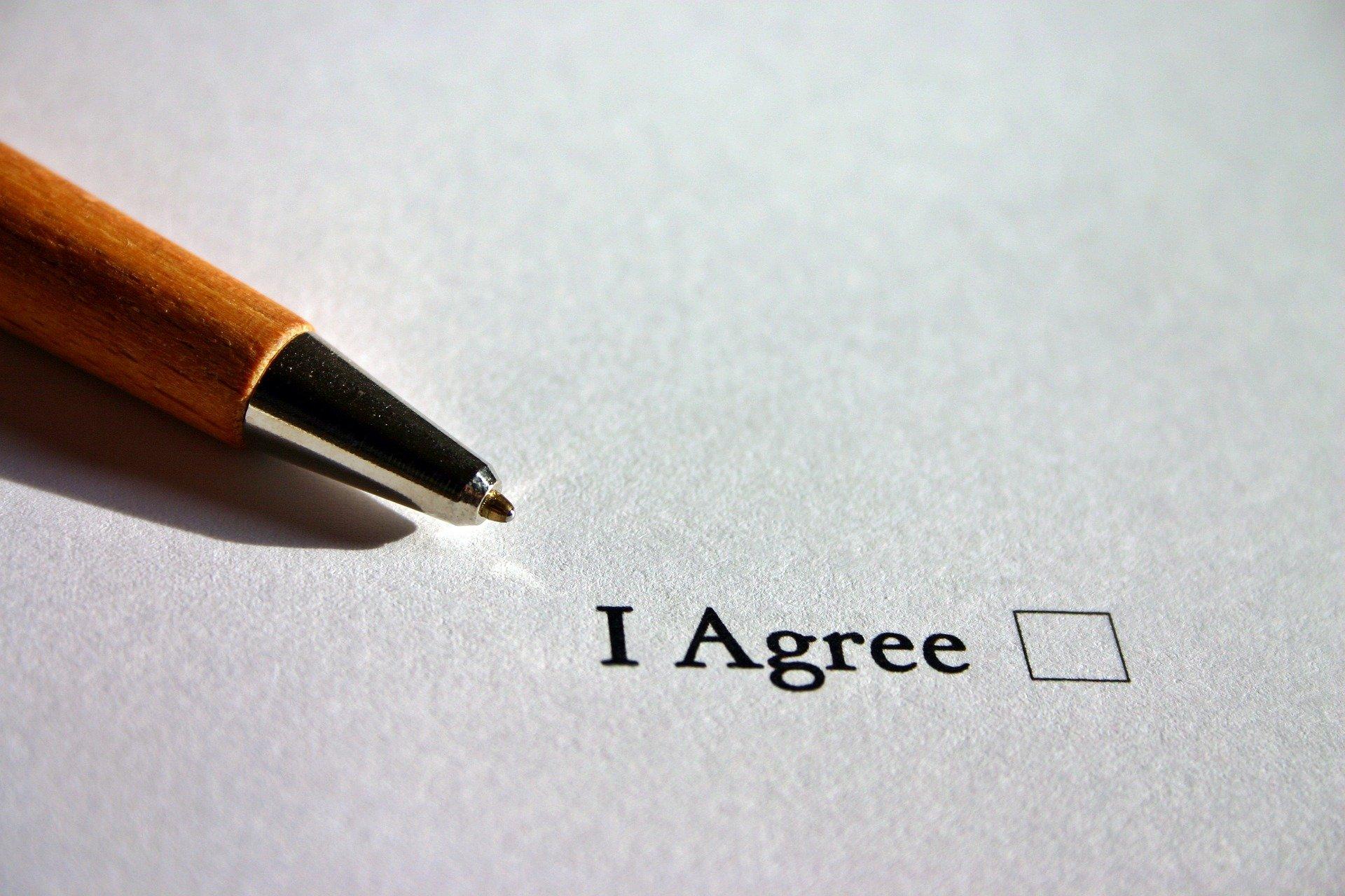Pen agreement