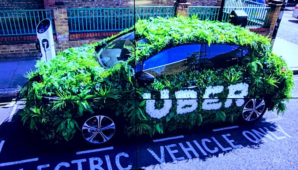 Electric Uber Car